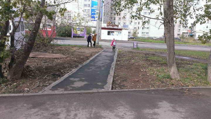 тротуар Клубная 79 - остановка (после)_720